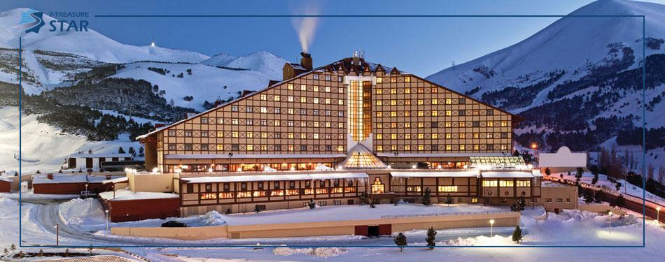 مراکز خرید و هتل های ارزروم