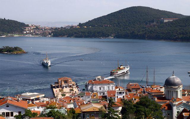 جزیره بیوک آدا استانبول-شرکت مسافرتی هفت گنج