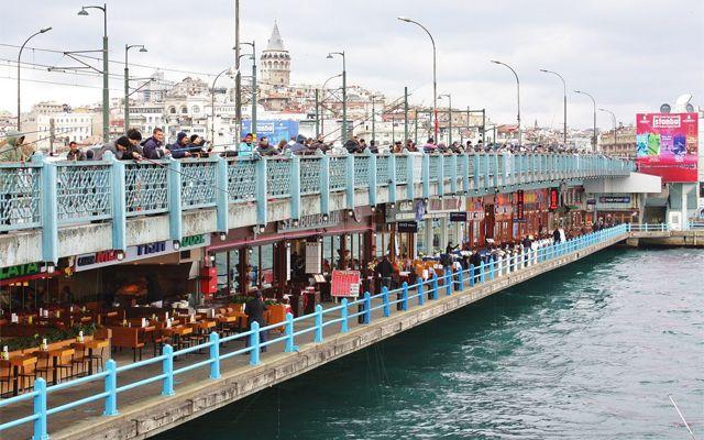 پل گالاتا استانبول-آژانس مسافرتی هفت گنج