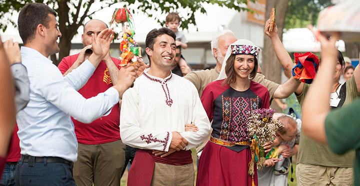 جشن ازدواج در ارمنستان-آژانس مسافرتی ستاره هفت گنج